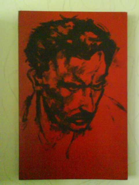 József Attila.  Portré.