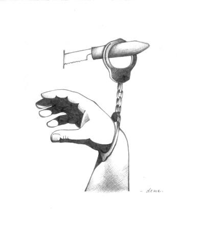 Krimi illusztráció